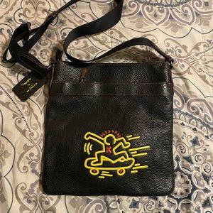 Coach x Keith Haring Crossbody Shoulder Bag